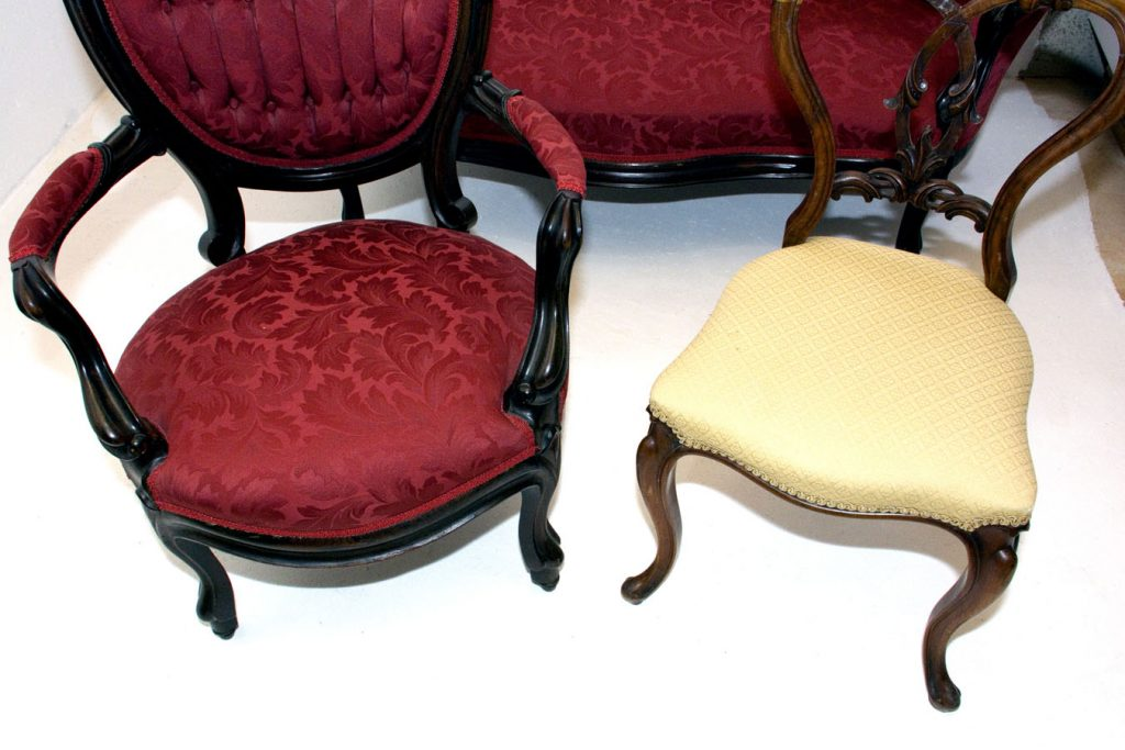 Rococo Revival Seat Shapes