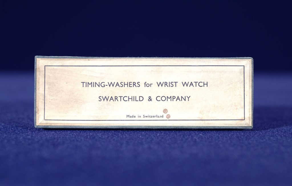 Watch Timing Washers - Box Label