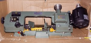 Horizontal Bandsaw Unpacked (Front View), August 27, 2016
